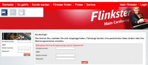 flinkster.de - Login